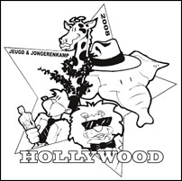 Logo Jeugd & Jongerenkamp 2008 Hollywood