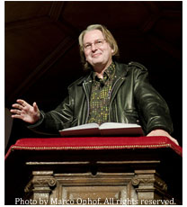 Bruce Sterling at MoMo